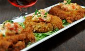 Fried Green Tomatoes & Shrimp Remoulade