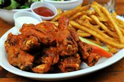 Buffalo Style Chicken Wings   $11.95