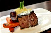 Porcini Crusted 7 oz Filet with Truffle Chive Butter