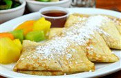 Strawberry/ Blueberry/ Maple Crepes   $7.55