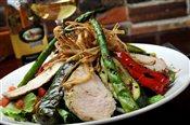 Mediterranean Grilled Vegetable Chicken Salad