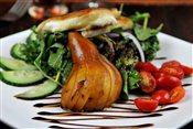 Crisp Pear & Goat Cheese Salad