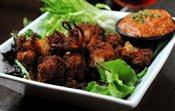 Cajun Fried Seafood Medley