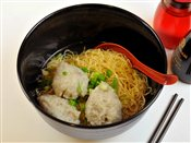 Fishball Egg Noodle Soup