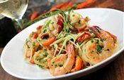Lobster & Prawn Spaghettini