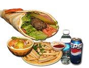 Kabab Sandwich Combo