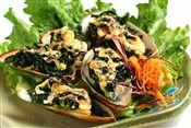 Green Mussel Yaki