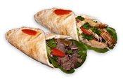 2 Shawarma Sandwiches