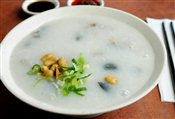 Pork & Gold Preserved Egg Congee