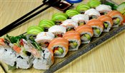 Golden Dragon Roll (8pcs), Snow Mountain Roll (8pcs), Green Dragon Roll (8pcs)