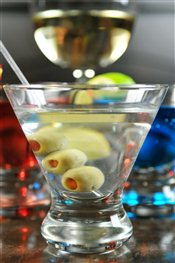 Dirty Jin Martini