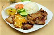 Grilled Pork on Rice