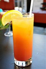 Tequila Sunrise Martini