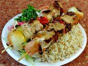 Shish Tawook Platter