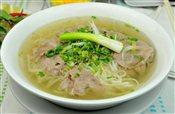Rare Beef Rice Noodle Soup