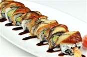 Black Dragon Roll   $10.95