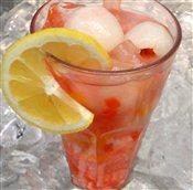 Lychee, Coconut Fruit Jelly, & Aloe Vera Cooler