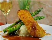 Corn Crusted Halibut