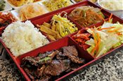 BBQ Grilled Ribs Lunch Box