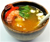 Tom Yam Coconut Soup