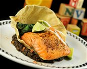 Indian-Spice Crusted Atlantic Salmon