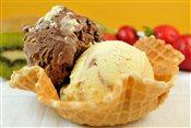 Ice Cream Waffle Cup
