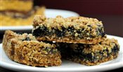 Blueberry Square (Gluten-Free, Vegan, Sugar-Free)