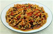 Shredded Pork with Spicy Sauce