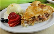 Peach & Apple Pie