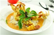 Red Curry Soft Shell Crab