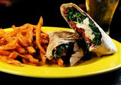 Spinach & Goat Cheese Wrap