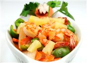 Pad Preow Wan Goong (Sweet & Sour Shrimp)