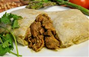 Boneless Curry Chicken Roti