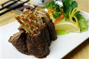 Mushroom Beef Roll