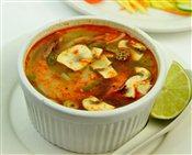 Hot & Sour Shrimp Soup (Tom Yum Soup)