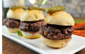 Trio of Mini Kobe Burgers