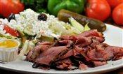 Roast Beef Plate   $9.75