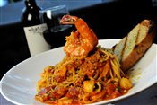 Spicy Seafood Linguini