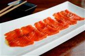 Salmon, Olive Oil Sashimi