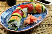 Rainbow Roll (8 pcs.)