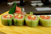 Sushi Salmon Salad Roll