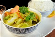 Green Curry Vegetable (Keang Puk)