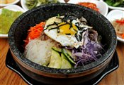 Hot Stone Pot Bibimbap with Bul Go Gi Beef