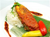 Waterfalls Special Fish-King Fish Steak