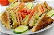 Clubhouse Sandwich (with Fries)