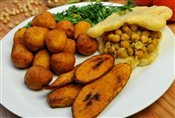 Fried Plantain (4pcs)