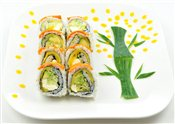 Golden Dragon Roll (8pcs)   $8.95