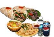 2 Shawarma Combo