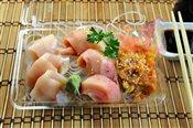 Toro and Spicy Scallop Sashimi