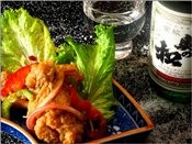 Japanese Style Vinaigrette Chicken Wings